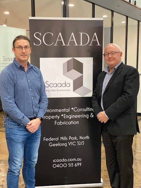 Dale Smith, Managing Director Scaada Group with Michael Courtney, Managing Director CT Management Group